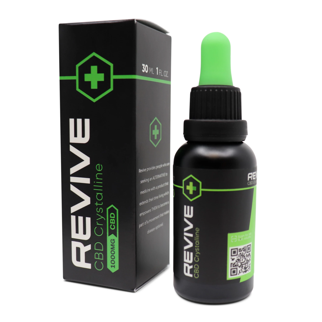 Revive CBD Labs Redesign